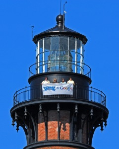 Corolla Lighthouse & Banner