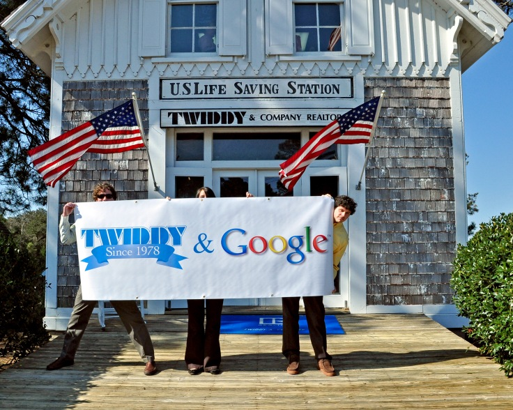 Twiddy & Google Banner